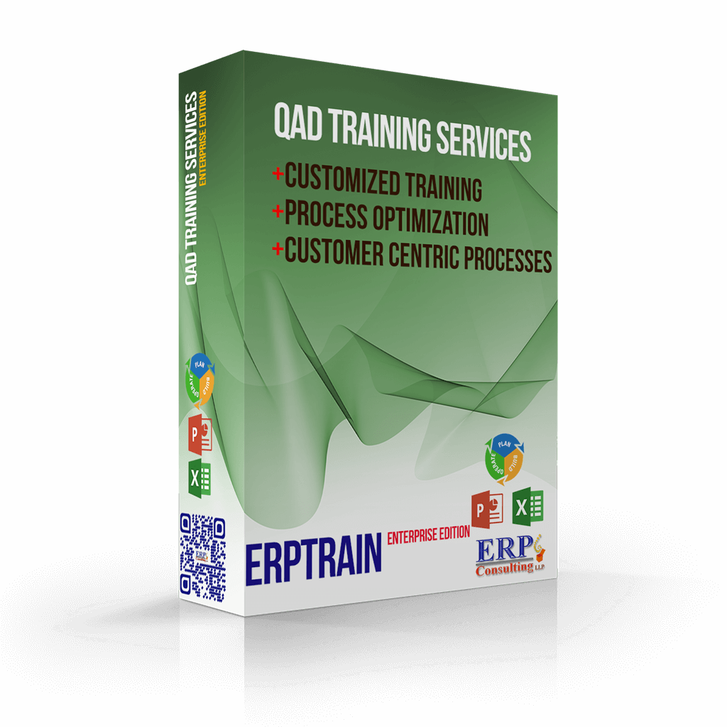 QAD TRAINING SERVICES +CUSTOMIZED TRAINING +Process Optimization +Customer Centric Processes
